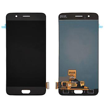 Display full LCD unit touch spare parts for ONEPlus 5 Repair black new