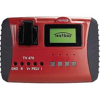 Testboy TV 470 Equipment tester Calibrated to (DAkkS standards) VDE 0701/0702, DIN EN 62353 (VDE 0751-1)