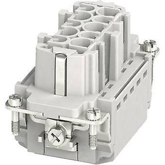 Phoenix Kontakt 1407729 Sockeleinsatz HC-B 10 + PE Stecker & Clip 1 Stück