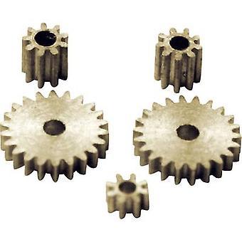Sol ekspert ZRS messing mikro cogwheel sæt modul 0,2 1 sæt
