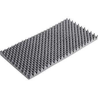Harde dichtheid geluid isolerende deelvenster (L x W x H) 1000 x 500 x 60 mm