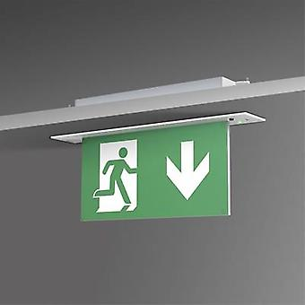 B-SAFETY BR 554 030 Escape route lighting Ceiling recess-mount