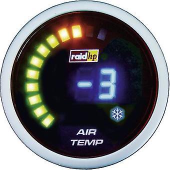 raid hp Outdoor Temperature Gauge -20 to +125 °C 12V