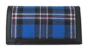 Mens Wallet Card Holder with Glasgow Rangers Tartan
