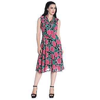 Hell Bunny Eden Rose Dress