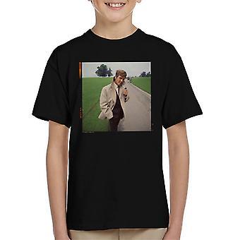 TV Times Roger Moore Park passeggiare t-shirt di 1968 bambino