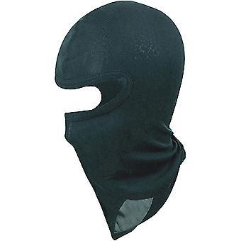 Los niños de Manbi seda casco pasamontañas - negro