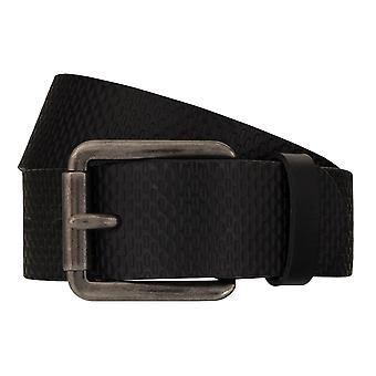 Jeans de TOM TAILOR correa cuero cinturones hombre cinturones cinturón negro 7751