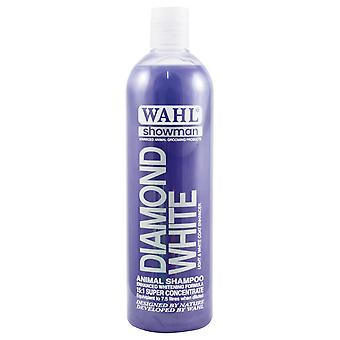 Wahl Showman Diamond White Enhanced Whitening Formula Dog Shampoo