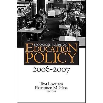 Brookings Papers on Education Policy 2006-2007