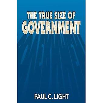 Sanna storleken på regeringen