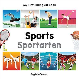 Mijn eerste tweetalige boek - sport: Engels-Duits