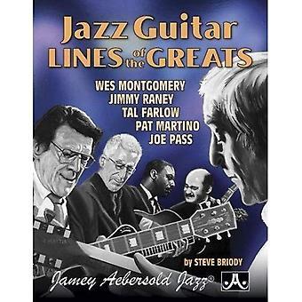 Jazz gitaarlijnen van de groten: Wes Montgomery * Jimmy Raney * Tal Farlow * Pat Martino * Joe Pass, spiraal gebonden boek