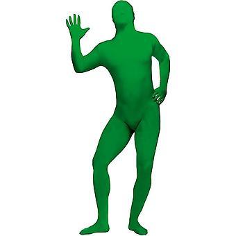 Disfraz adolescente piel verde
