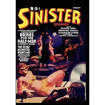Pulp Classics Sinister Stories 1 February 1940 by Betancourt & John & Gregory