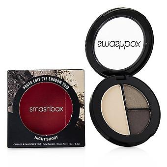 Smashbox Photo Edit Eye Shadow Trio - # Night Shoot (smoke Break Moon Me Vanilla) - 3.2g/0.11oz