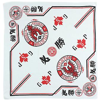 Affliction Adult Unisex Georges St. Pierre GSP Bandana - White