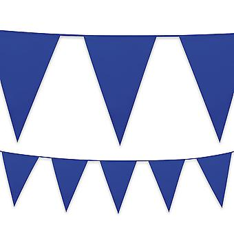 10m Plastic Bunting Pennant Banner Birthday Party Garden Decoration