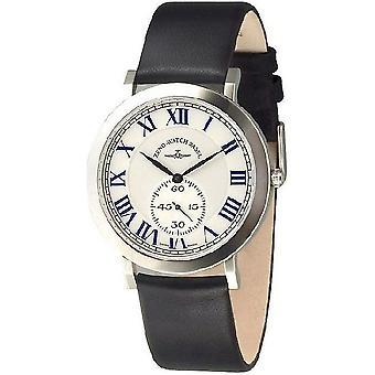 Zeno-watch Herre ur flatline flade 2 quartz 6703Q-i3-rom