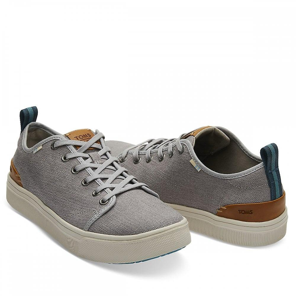 Toms Travel Lite Heritage Canvas Trainers