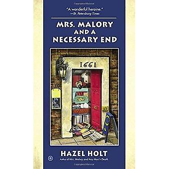 Mrs. Malory and a Necessary End by Hazel Holt - 9780451415387 Book