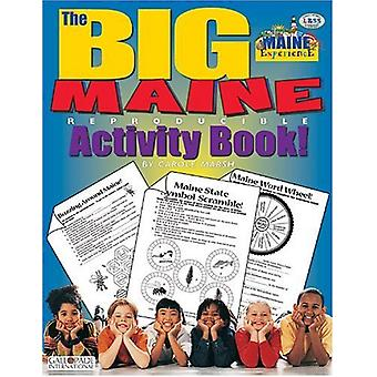 The Big Maine Activity Book! by Carole Marsh - 9780793399444 Book