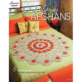 Doily Afghans - 5 Colorful Afghans Made Using Worsted-Weight Yarn - 97