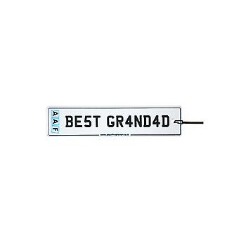 AAF - Best Grandad License Plate Car Air Freshener