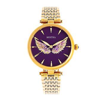 Bertha Micah Armband Watch-Gold