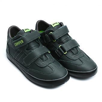 Camper Kids Pursuit Sella Sapiens Sneaker,Dark Green