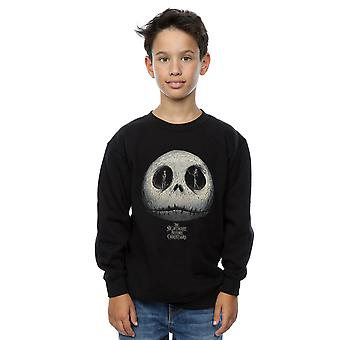 Disney Boys Nightmare Before Christmas Jack's Eyes Sweatshirt