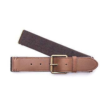 Arcade Tailor Webbing Belt in Black/Brown
