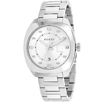 Gucci Ya142308 Stainless Steel Silver Dial Men's Watch