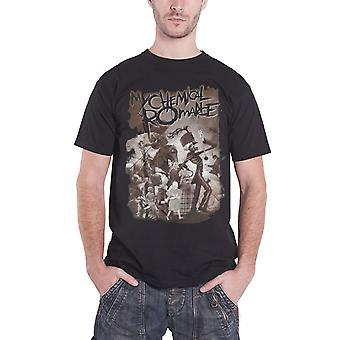 My Chemical Romance T Shirt The Black Parade new Official Mens Black