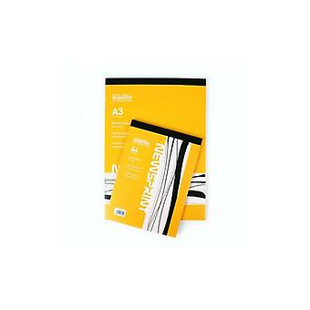 Seawhite Newsprint Paper Pad 100 Sheets A3