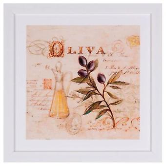 Wellindal Table Olive (Decoration , Pictures and frames , Framed pictures)