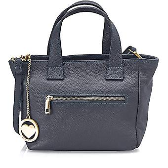 Chicca Bags Cbc34010tar Women's Blue hand bag 10x20x25 cm (W x H x L)