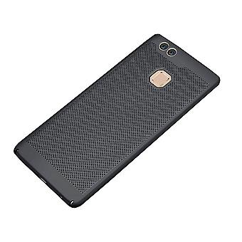 Huawei P10 Lite tapauksessa musta - Mesh reikiä