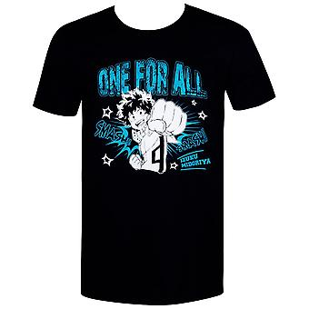 My Hero Academia Deku One For All Men's T-Shirt