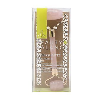 Beauty & Balance Rose Quartz Facial Massage Roller oz/ml  New In Box