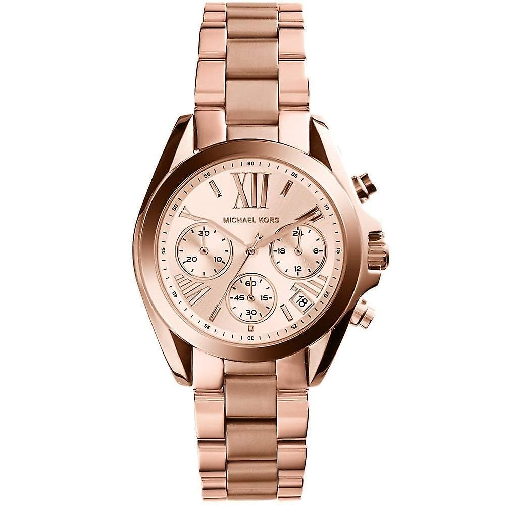 Michael Kors Ladies' Mini Bradshaw Chronograph Watch MK5799