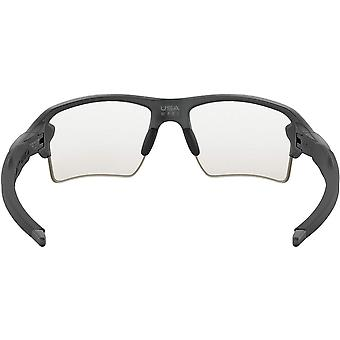 Oakley Men's OO9188 Flak 2.0 XL Rectangular Sunglasses,, Black, Size 59 mm