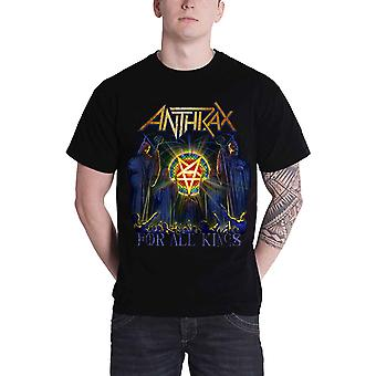 Anthrax Mens T Shirt All Kings Cover band logo new Official