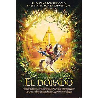 O caminho para Eldorado (dupla face regular) (2000) poster original do cinema