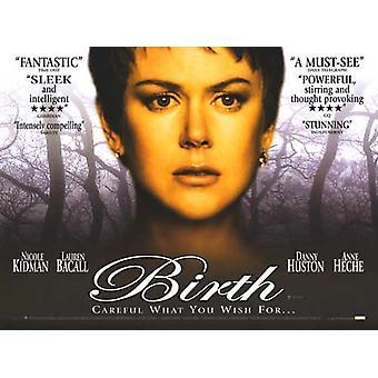Birth Original Cinema Poster
