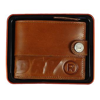 Superdry profile warm tan leather wallet