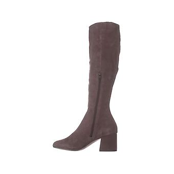 Steve Madden Womens Hero Leather Closed Toe Knee High Fashion Boots