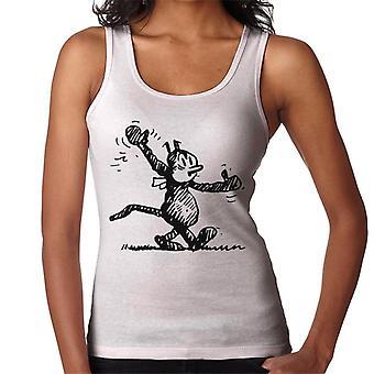 Krazy Kat Walking Dance Women's Vest