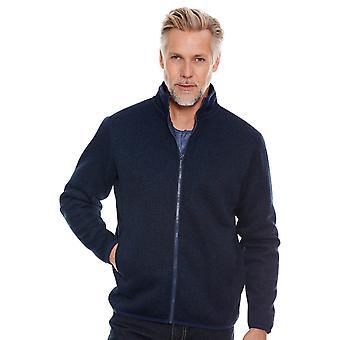 Pegasus Mens Gevoerd jas Sherpa gevoerd zip jas