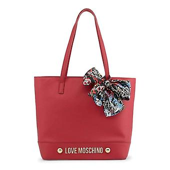 Love Moschino Women Red Shoulder bags -- JC41588976